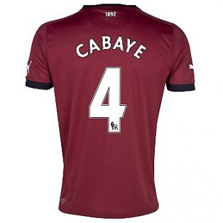 2012-13 Newcastle Puma Away Shirt (Cabaye 4) - Kids