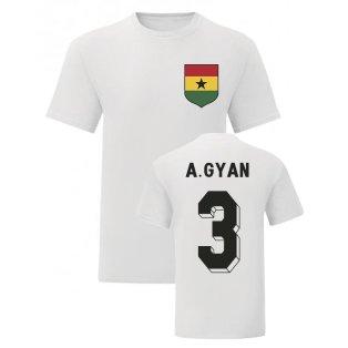 Asamoah Gyan Ghana National Hero Tee (White)