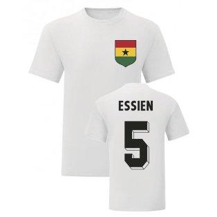 Michael Essien Ghana National Hero Tee (White)