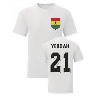 Tony Yeboah Ghana National Hero Tee (White)