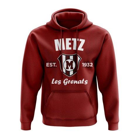 Metz Established Hoody (Maroon)