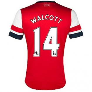 2012-13 Arsenal Nike Home Shirt (Walcott 14) - Kids