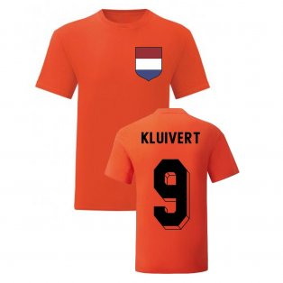 Patrick Kluivert Holland National Hero Tee\'s (Orange)