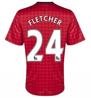 2012-13 Man Utd Nike Home Shirt (Fletcher 24)