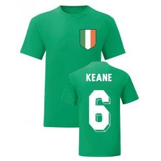 Roy Keane Ireland National Hero Tee (Green)