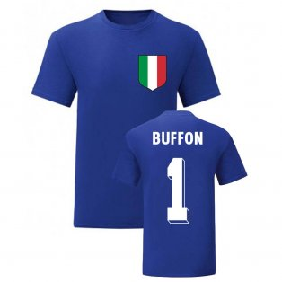 Gianluigi Buffon Italy National Hero Tee\'s (Blue)