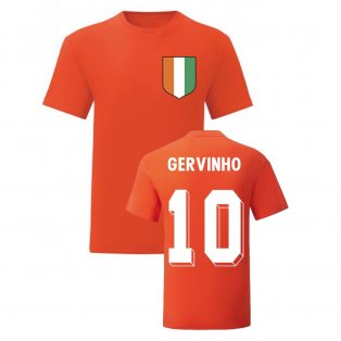 Gervinho Ivory Coast National Hero Tee (Orange)