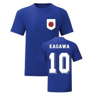 Shinji Kagawa Japan National Hero Tee (Blue)