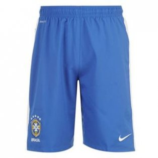 2012-13 Brazil Nike Home Football Shorts (Kids)