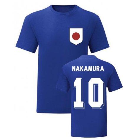 Shunsuke Nakamura Japan National Hero Tee (Blue)