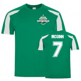John McGinn Hibs Sports Training Jersey (Green)