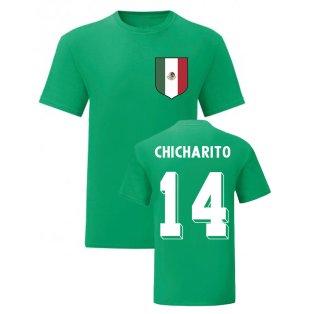 Javier Hernandez Mexico National Hero Tee\'s (Green)