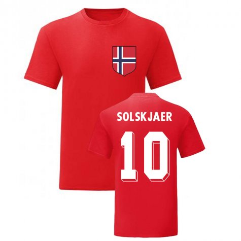 Ole Gunnar Solskjaer Norway National Hero Tee (Red)