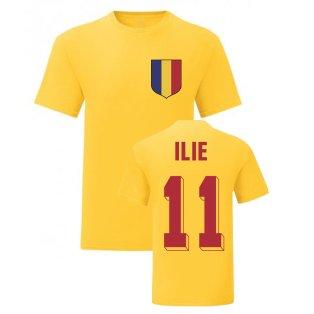 Adrian Ilie Romania National Hero Tee (Yellow)