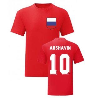 Andrey Arshavin Russia National Hero Tee (Red)