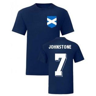 Jimmy Johnstone Scotland National Hero Tee (Navy)