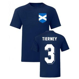 Kieran Tierney Scotland National Hero Tee (Navy)