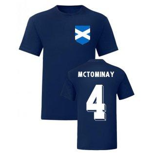 Scott McTominay Scotland National Hero Tee (Navy)