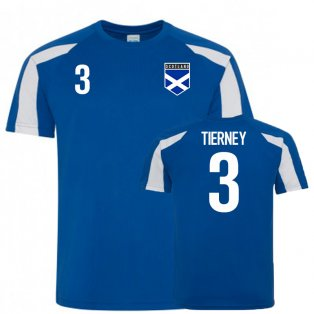 Scotland Sports Training Jersey (Tierney 3)