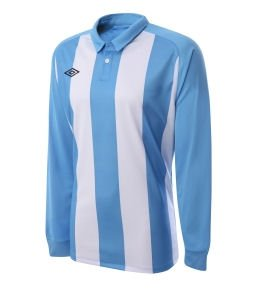 Umbro Clifton LS Teamwear Shirt (blue-white)