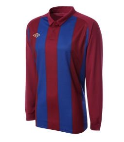 Umbro Clifton LS Teamwear Shirt (red-blue)