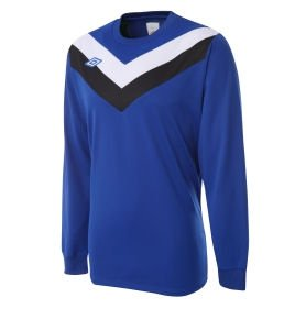 Umbro Chevron LS Teamwear Shirt (blue)