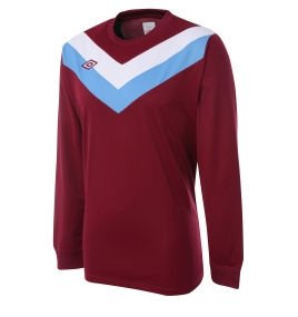 Umbro Chevron LS Teamwear Shirt (maroon)