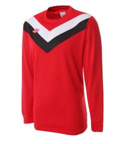 Umbro Chevron LS Teamwear Shirt (red)