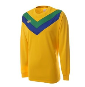 Umbro Chevron LS Teamwear Shirt (yellow)
