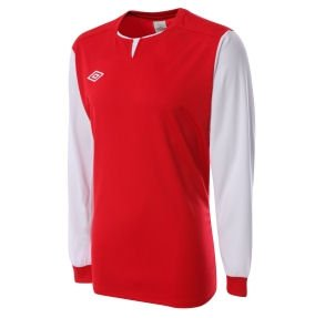 Umbro Aston LS Teamwear Shirt (light (red)