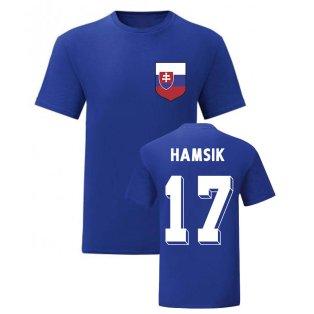 Marek Hamsik Slovakia National Hero Tee (Blue)