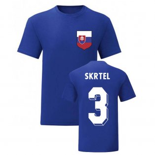 Martin Skrtel Slovakia National Hero Tee (Blue)