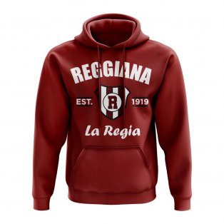 Reggiana Established Hoody (Maroon)