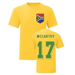 Benni McCarthy South Africa National Hero Tee (Yellow)