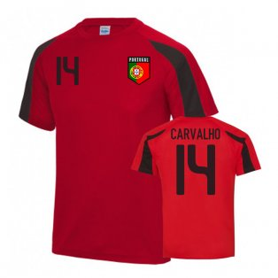Portugal Sports Training Jersey (Carvalho 14)