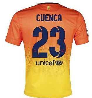 2012-13 Barcelona Nike Away Shirt (Cuenca 23)