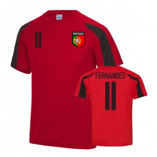 Portugal Sports Training Jersey (Fernandes 11)