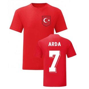 Arda Turan Turkey National Hero Tee (Red)