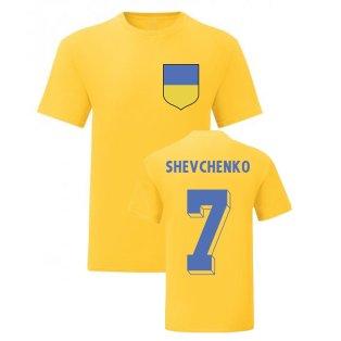 Andriy Shevchenko Ukraine National Hero Tee (Yellow)