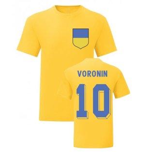Andriy Voronin Ukraine National Hero Tee (Yellow)