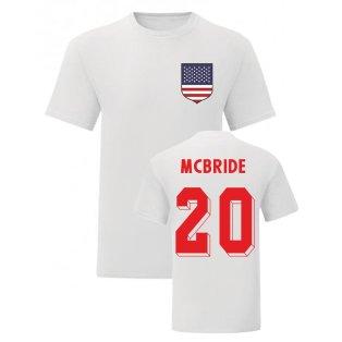 Brian McBride USA National Hero Tee (White)