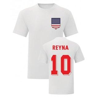 Claudio Reyna USA National Hero Tee (White)