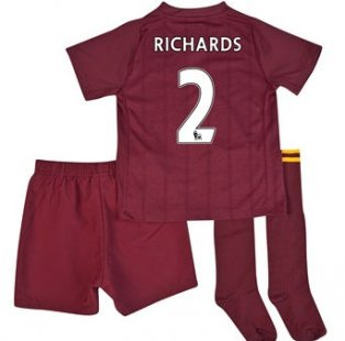 2012-13 Man City Umbro Away Mini Kit (Richards 2)