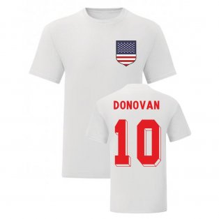 Landon Donovan USA National Hero Tee (White)