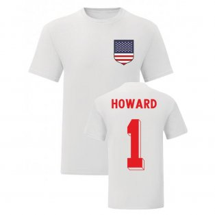 Tim Howard USA National Hero Tee (White)