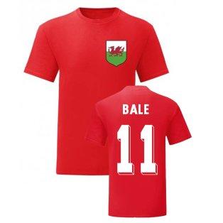 Gareth Bale Wales National Hero Tee (Red)