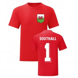 Neville Southall Wales National Hero Tee (Red)
