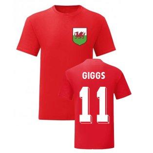 Ryan Giggs Wales National Hero Tee (Red)