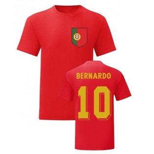 Bernardo Silva Portugal National Hero Tee (Red)