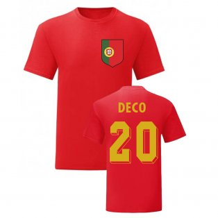 Deco Portugal National Hero Tee (Red)
